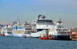 Порт Eminonu Стоковая Фотография RF