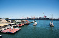 Порт Fremantle: Судоходство Стоковые Изображения