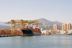 Порт Genoa, Италии Стоковое Изображение RF