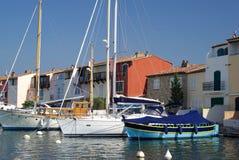 Порт Grimaud, Франция Стоковая Фотография