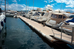 Порт Grimaud Стоковое фото RF