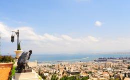 порт haifa стоковая фотография rf