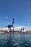 Порт Haydarpasa и контейнерного терминала в гареме Стамбуле Стоковое Изображение