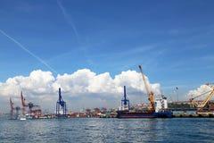 Порт Haydarpasa Стоковые Фотографии RF