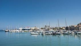 Порт Iraklion стоковые фото