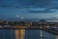 Порт Iraklion стоковое фото rf
