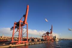 порт istanbul Стоковое Изображение