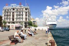 Порт Karakoy Стоковое Изображение RF