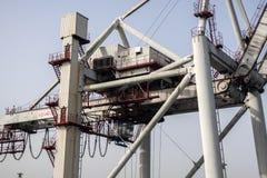 Порт Leixoes промышленный на Порту Стоковая Фотография RF