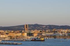 порт livorno стоковая фотография rf