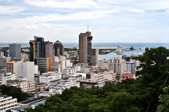 порт louis Маврикия стоковые фотографии rf