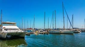 Порт Mangalia Румыния Стоковая Фотография