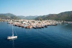 Порт Marmaris, Турции Стоковое Фото