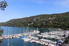 Порт Miramare в Италии Стоковое фото RF
