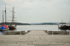 Порт Olso Стоковое Изображение