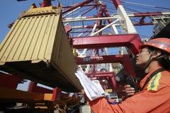 Порт Qingdao, стоковая фотография rf
