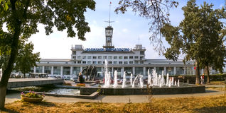 Порт Resny в Nizhny Novgorod стоковое фото rf