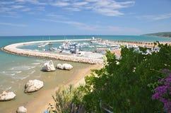 Порт Rodi Garganico Стоковые Фотографии RF
