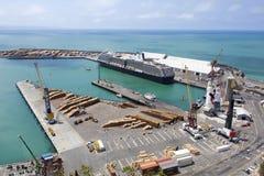 Порт ` s Новой Зеландии Стоковые Фото
