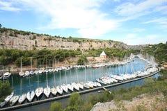 порт s miou Марины стоковые изображения