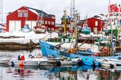 Порт Sisimiut Стоковые Изображения