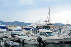 Порт, St Tropez, Франция стоковая фотография