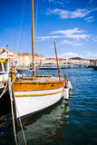 Порт St Tropez, французской ривьеры стоковое фото