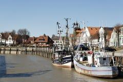 Порт Toenning северная Германия Стоковое Изображение