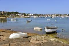Порт Tregastel в Франции Стоковые Фотографии RF