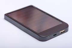 Порт USB на приборе банка солнечной энергии Стоковые Фотографии RF