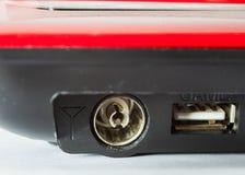 Порт USB подключает к телевидению Стоковые Фото