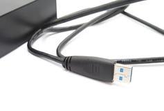 Порт USB Стоковая Фотография