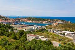 Порт-Vendres Стоковые Изображения RF
