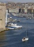 Порт Vieux в марселе в Провансали Стоковое Изображение RF