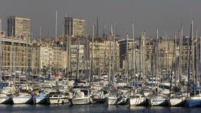 Порт Vieux в марселе в Провансали Стоковые Фотографии RF