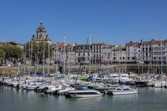 Порт Vieux - La Rochelle - Франция стоковое изображение rf