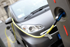 поручать автомобиля электрический стоковые фотографии rf