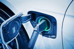 Поручать электрического автомобиля Стоковые Изображения