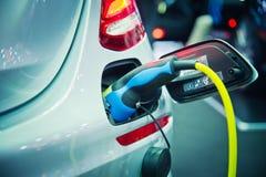 Поручать электрического автомобиля Стоковое Изображение