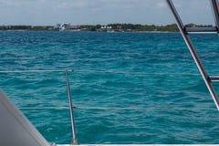 Поручень парусника в Вест-Инди стоковая фотография