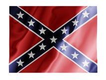 порхать confederate Стоковое Изображение