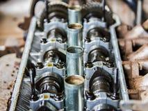 Поршени заголовков машинных частей Стоковое Фото
