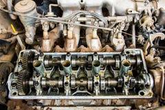 Поршени заголовков машинных частей Стоковое Изображение RF