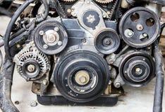 Поршени заголовков машинных частей Стоковые Фотографии RF