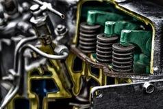 Поршень двигателя дизеля Стоковое Изображение RF