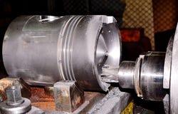 Поршень для двигателя дизеля Стоковая Фотография RF