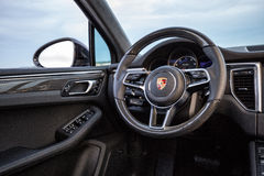 Порше 2015 Macan Turbo Стоковая Фотография RF