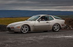 Порше 1986 944 Turbo Стоковые Фото