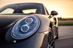 Порше 2015 911 Turbo s Стоковое Изображение
