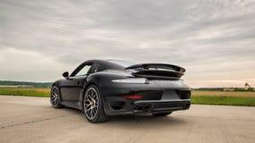 Порше 2015 911 Turbo s Стоковые Фотографии RF